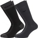 EMPORIO ARMANI 2 Pack one size Socken       00044 2Pack...