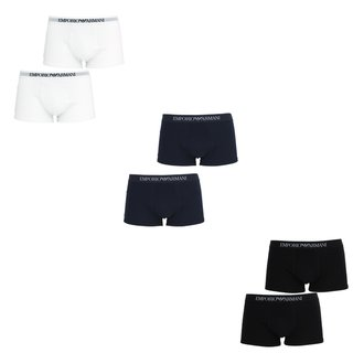 EMPORIO ARMANI 2er Packs Herren Boxershorts Trunks Pants von S bis XL