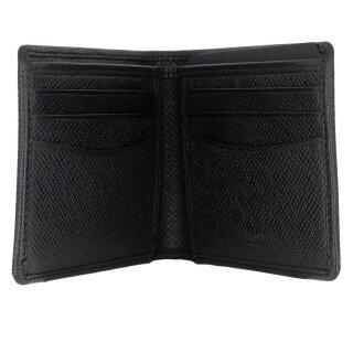 6815c83e198fd ... BOSS Herren Kartenetui kleine Geldbörse Brieftasche Portemonnaie in  schwarz ...