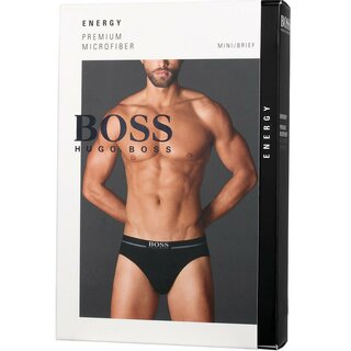 BOSS Energy 1 Pack Single pack Brief Slips Herren Unterwäsche Schwarz Blau
